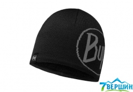 Тепла шапка з Windstopper® BUFF TECH KNITTED HAT TECH LOGO black (BU 113526.999)