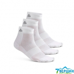 Набір шкарпеток, 3 пари Craft Greatness Mid 3-Pack Sock white (Cr 1906060.900000)