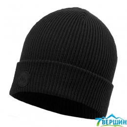 BUFF KNITTED HAT EDSEL black (BU 116027.999.10.00)