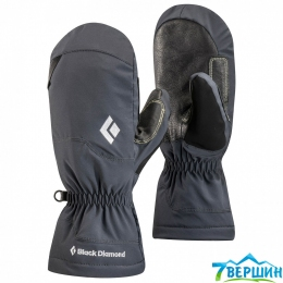 Варежки для альпинизма Black Diamond Glissade Mitts black (BD 801729.BLAK)