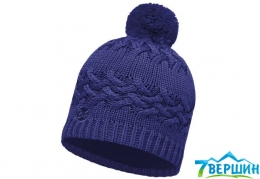 Шапка  BUFF Knitted & polar hat SAVVA mazarine blue (BU 111005)