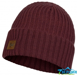 Шапка BUFF KNITTED HAT RUTGER maroon (BU 117845.632.10.00)