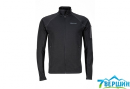 Кофта мужская Marmot Stretch Fleece Jacket Black (MRT 81120.001)