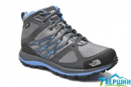 Черевики The North Face Litewave Mid GTX grey / marina blue (TNF T0CCQ0.U4V) Розмір 39