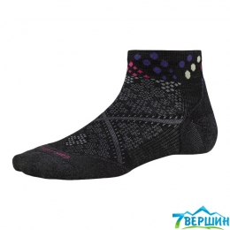 Носки беговые женские Smartwool Women's PhD Run Light Elite Low Cut Pattern black (SW SW212.001)
