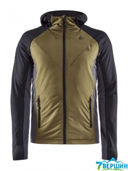 Чоловіча кофта Craft Polar LT PD Midlayer Man black / woods (Cr 1908013.999669)