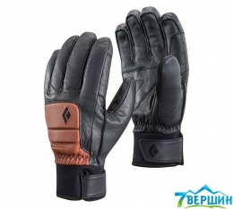 Кожаные перчатки Black Diamond Spark Gloves brick (BD 801595.BRCK)
