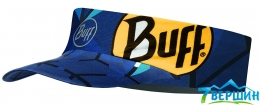 Козирок - пов'язка BUFF® PACK RUN VISOR helix ocean (BU 119489.737.10.00)