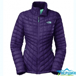 Жіноча утеплена куртка The North Face W ThermoBall ™ Full Zip Jacket garnet purple (T0CUC6.BDW.XS) Розмір XS