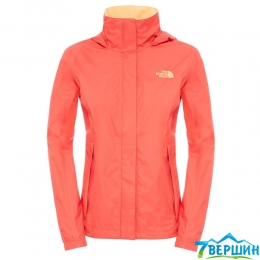 Женская штормовая куртка The North Face W Resolve Jacket melon red (TNF T0AQBJ.X79) Равзмер S