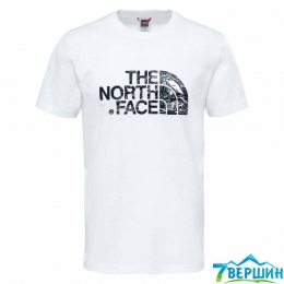 Футболка The North Face S/S Woodcut Dome Tee white/black p.XL (TNF T0A3G1.LA9)