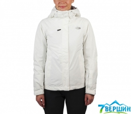 Куртка The North Face W Descendit Jacket tnf white print