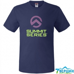 Футболка The North Face S/S Series Tee cosmic blue p. XL (TNF CEQ4.COBL)