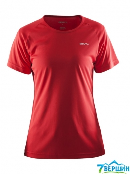 Футболка жіноча Craft PRIME TEE WOMAN red (Cr 1903176.1430)