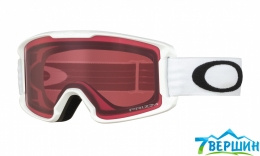 Детская горнолыжная маска Oakley LINE MINER YOUTH Matte white/ Prizm Snow Rose (OO7095-09)