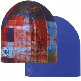 BUFF Coolmax reversible hat kan multi- blue ink (BU 111509)