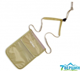 Гаманець на шию Tatonka SKIN Folder Neck Pouch natural (2845.225)