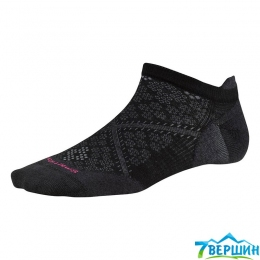Женские носки для бега Smartwool Women's PhD Run Ultra Light Micro black (SW SW188.001)