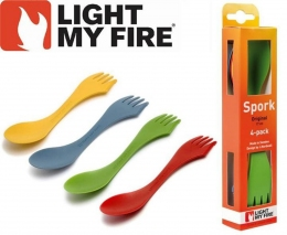 Наборы из 4- х ложек Light My Fire Spork original 4-pack LMF 4124