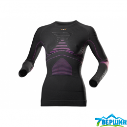Женская термокофта, термобелье X-bionic Energy Accumulator Evo Shirt Lady Long Sleeves Roundneck (I20217-G083)