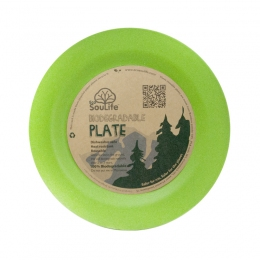 Тарелка Eco Soulife LARGE DINNER PLATE  22.5см green (BW11-001-GRN)