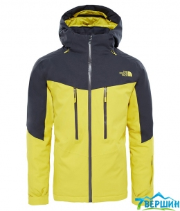 Лыжная мужская куртка The North Face M Chakal Jacket acid yellow/asphalt grey (TNF T93BZ4.W8B)