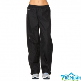Штаны женские штормовые The North Face Venture 1/2 Zip Pant  tnf black p.L (TNF A4B4.TNBL)
