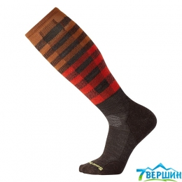 Сноубордичні шкарпетки Smartwool PhD Slopestyle Light Ifrane CHESTNUT (SW 15038.207)