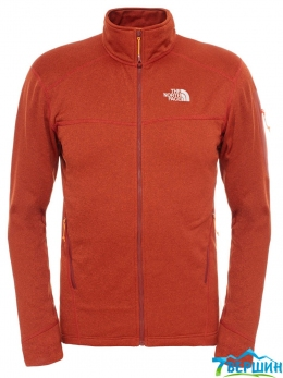 Кофта The North Face Hadoken Full Zip brick house red heather