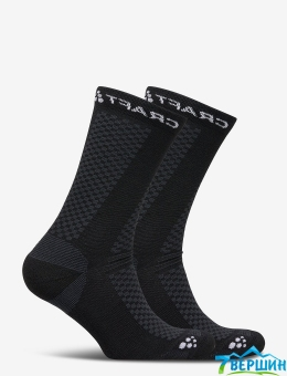 Шкарпетки, 2 пари  Craft Warm Mid 2-Pack Sock black/white (Cr 1905544.999900)