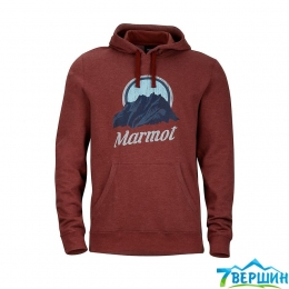 Кофта Marmot M Pikes Peak Hoody team red heather p.XL (MRT 44800.8557)