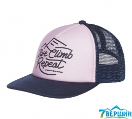 Кепка жіноча  Black Diamond W Trucker Hat Wisteria/Eclipse, One Size (BD 723007.9114)
