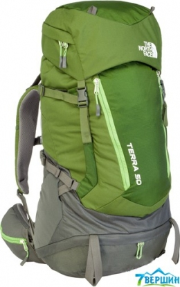 Рюкзак The North Face Terra 50 scallion green/tree frog green (TNF T0A6K0.K7E) p.L-XL