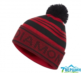 Шапка Black Diamond Pom Beanie Black/Hyper Red (BD 721002.9058)