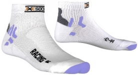 Термоноски X-SOCKS Bike Racing Women ( X20324 - X82) White/Light Blue