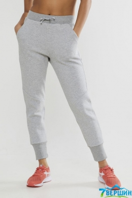 Спортивні штани жіночі Craft District Crotch Sweet Pants Woman grey melange (Cr 1907198.950000)