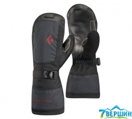 Женские теплые варежки Black Diamond W Mercury Mitts Black (BD 801123.BLAK)