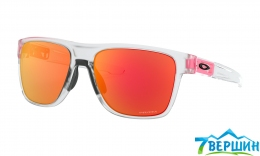 Сонцезахисні окуляри Oakley Crossrange XL Crystal Clear / Prizm Ruby (OO9360-2058)