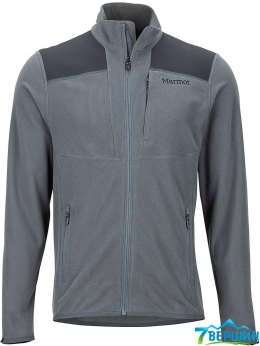 Кофта, флис Marmot Reactor Jacket Steel Onyx/Dark Steel (MRT  84120.1517)