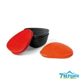 Набор посуды Light My Fire SnapBox 2-pack Red-Orange LMF 40358613