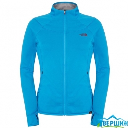 Женская флисовая кофта The North Face Women's KEGON STRCH FZ JKT quill blue (T0C170.V8V)