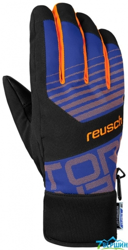 Гірськолижні рукавички Reusch Torbenius R-TEXВ® XT dazzling blue / orange popsicle (4501222.457)