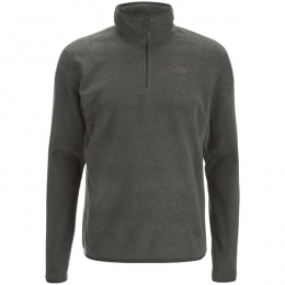 Кофта Men's 100 Glacier 1/4 Zip fusebox grey dark  heather (TNF T92UAR,JJL)