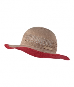 Шляпа The North Face W's Packable panama hat cayenne red