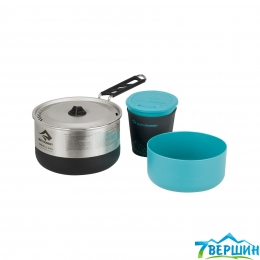 Набор посуды для одного Sea To Summit Sigma Cookset 1.1 Pacific Blue/Silver (STS APOTSIGSET1.1)