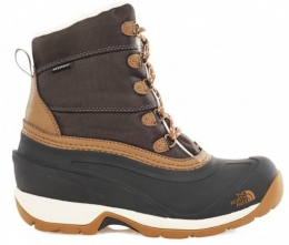 Ботинки The North Face W Chilkat NYL black ink green/utility brown (T0CM70.T8H)