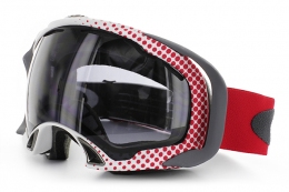 Маска Oakley Splice Halftone red dark grey (57-746)