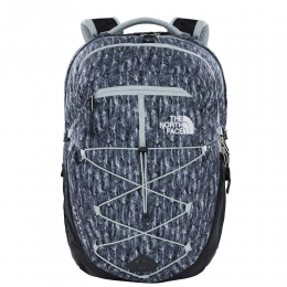 Рюкзак The North Face  Borealis classic  High Rise Grey Feather Leaf Print (TNF T0CF9C.SSV.OS)