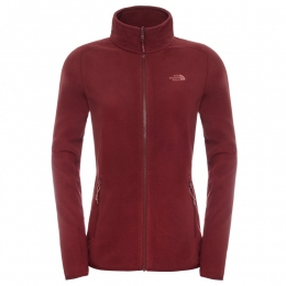 Жіночий фліс The North Face W 100 Glacier Full Zip Deep Garnet Red (TNF T92UAU.HBM)
