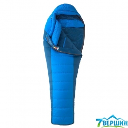 Пуховий спальний мішок Marmot Sawtooth Cobalt Blue / Blue Night, Right Zip (MRT 23260.2958-RZ)